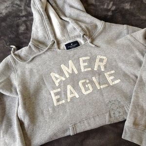 American Eagle Grey Sweatshirt